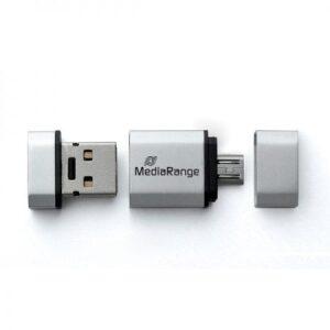 Media Range USB 2.0 Nano Flash Drive 32GB + micro USB Adaptor OTG (MR932)