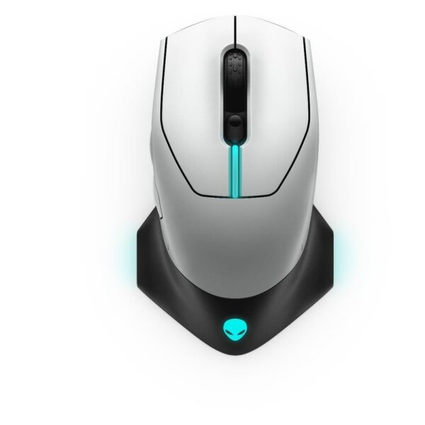 DELL Alienware Wired/Wireless Gaming Mouse AW610M Lunar Light (545-BBCN)