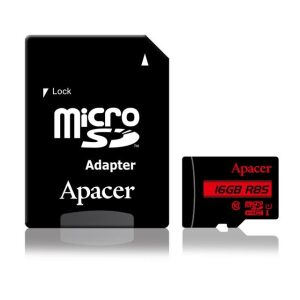 Apacer Memory card Micro SDHC 16GB class 10 (85MB/s)