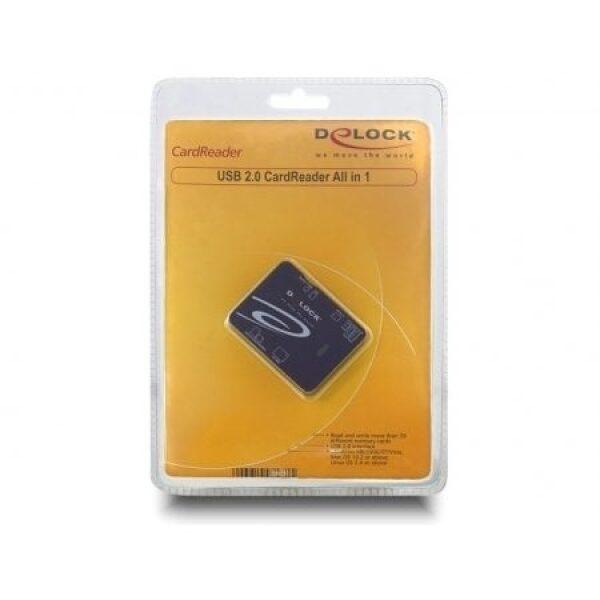 Delock USB 2.0 Card Reader All in 1