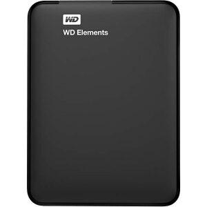 Western Digital HDD ELEMENTS PORTABLE USB3.0 1TB 2.5'' BLACK