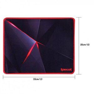 Redragon Mousepad Capricorn P012-BK Mid-Sized (330mm x 260mm x 3mm)