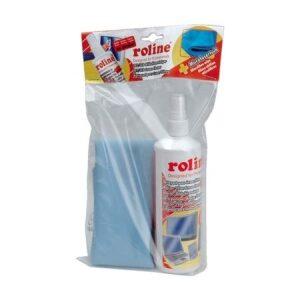 Roline Υγρό Καθαρισμού Οθονών με Πανί