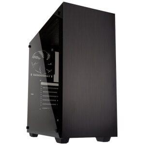 Kolink Stronghold PC Case Midi-Tower Tempered Glass Black