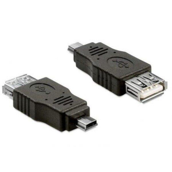 Adapter Usb Mini M/USB A G OTG Delock