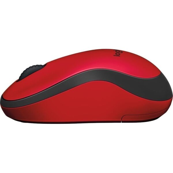 Logitech Mouse M220 Silent Red