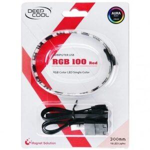 Deepcool RGB 100 Red LED Lighting Kit DP-LED-RGB100RD (18 LED Lights)