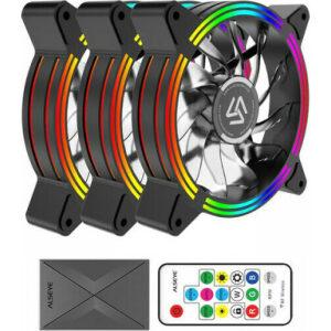 Alseye HALO 4.0 Case Cooler 12cm RGB-Fan x3 Kit