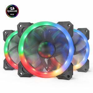 Redragon GC-F008 12cm RGB Fan (3x Fan RGB)