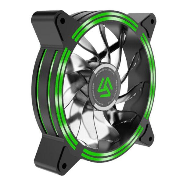 ALSEYE HALO 4.0 Case Cooler 12cm Green