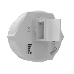 Mikrotik SXT 4G kit SXT 4G/LTE CPE, 10.5dBi 60 degree antenna, 2x Ethernet ports - two SIM and LTE modem