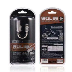 WK WDC-071i Adaptor Lightning to 3.5mm Female Silver