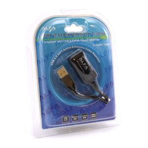 Alfa Network Usb 2.0 Active Extension Repeater Cable 10 meter (Usb A male to Usb A Female)