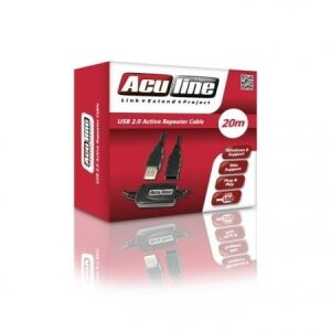 Aculine Cable Usb Repeater 20m Rusb-004