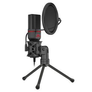 Redragon Seyfert GM100-BK Gaming Stream Microphone