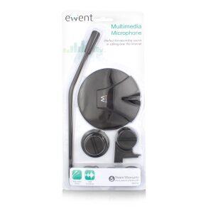 Ewent Multimedia Microphone Black