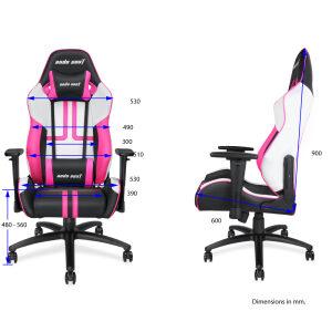 ANDA SEAT Gaming Chair VIPER Black - White - Pink