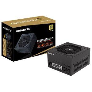 GIGABYTE Power Supply 850W Fully Modular 80+Plus GOLD