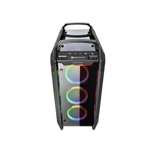 CC-COUGAR Case PANZER EVO RGB Full Tower E-ATX BLACK Tempered Glass USB 3.1