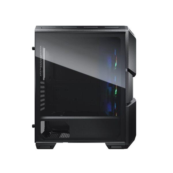CC-COUGAR Case MX440-G RGB Tempered Glass Middle ATX Black (3x120mm ARGB fans preinstalled)