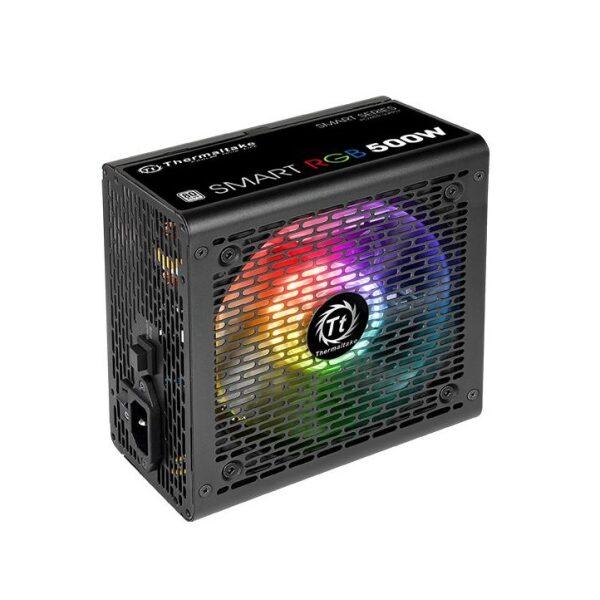 THERMALTAKE Power Supply TR2 500W SMART RGB 80 Plus (PS-SPR-0500NHSAWE-1)
