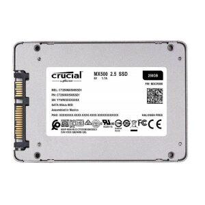 Crucial SSD 250GB MX500 Sata 6Gb/s 2.5'' (CT250MX500SSD1)
