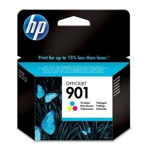HP Μελάνι Γνήσιο No.901 Τριών Χρωμάτων