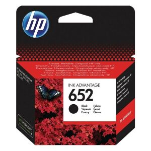 HP Μελάνι Inkjet No.652 Black (F6V25AE)