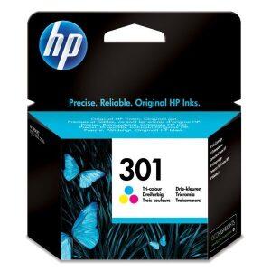 HP Μελάνι Γνήσιο No.301 Τριών Χρωμάτων
