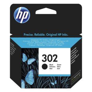 HP Μελάνι Γνήσιο No.302 Μαύρο