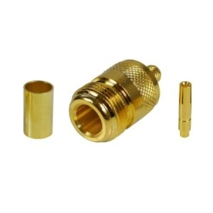 Connector N-female crimp for H-155/RF5 cable