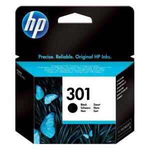 HP Μελάνι Γνήσιο No.301 Μαύρο