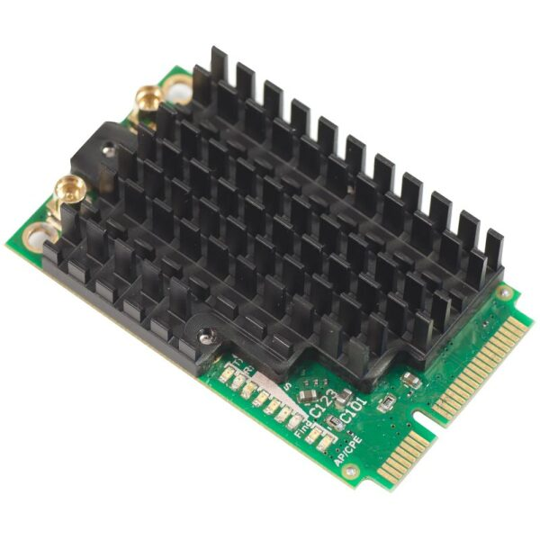 Mikrotik R11e-5HnD 5Ghz miniPCI-express 500mW, 2x MMCX 802.11a/n dual chain