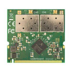 Mikrotik R52Hnd 2.4Ghz/5Ghz (400mW)802.11a/b/g/n miniPCI MMCX Connector