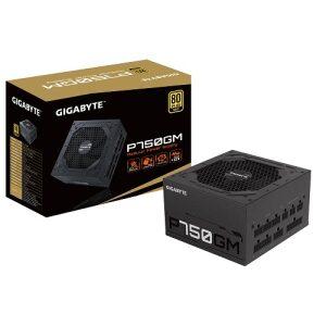 GIGABYTE Power Supply 750W Fully Modular 80+Plus GOLD