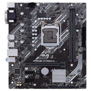 ASUS MOTHERBOARD H410M-K, 1200, DDR4, MATX