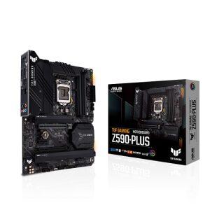 ASUS MOTHERBOARD TUF GAMING Z590-PLUS, 1200, DDR4, ATX