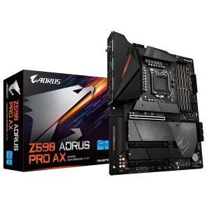 GIGABYTE MOTHERBOARD Z590 AORUS PRO AX, 1200, DDR4, ATX