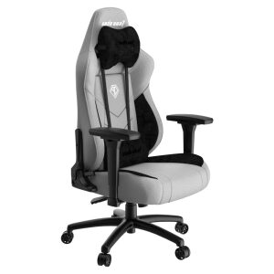 ANDA SEAT Gaming Chair T-COMPACT Light Grey/ Black FABRIC