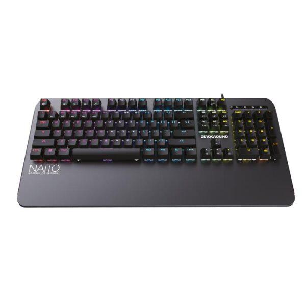Keyboard Optical/Mechanical RGB Zeroground KB-3500G NAITO