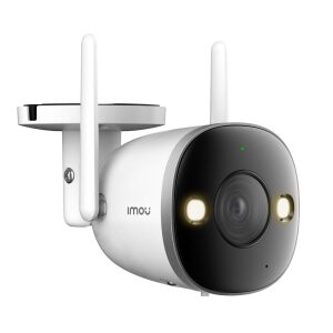 IMOU IP CAMERA BULLET 2S 4MP COLOR IPC-F46FP, OUTDOOR, METAL, 1/2.8 CMOS, H.265/H.264, QHD 4MP (25FPS), 16X DIGITAL ZOOM, 3.6M
