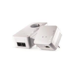 DEVOLO POWERLINE dLAN 550 WiFi STARTER KIT (9638), 1x dLAN 550 WiFi (WIRELESS) ADAPTER & 1x dLAN 550 DUO+ ADAPTER, dLAN 550Mbps,