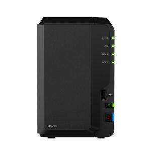 Synology DiskStation DS218 NAS CPU_Quad Core 1.40GHz 2GB Ram 2x2.5 or 3.5 HDD 1xGigabit Lan