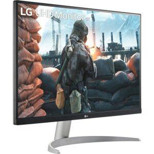 LG MONITOR 27UP600-W, LCD TFT IPS LED, UHD 4K, 27, 16:9, 400 CD/M2, 1200:1, 5MS, 3840x2160, 2xHDMI/1xDISPLAY PORT/HP OUT, 3YW &