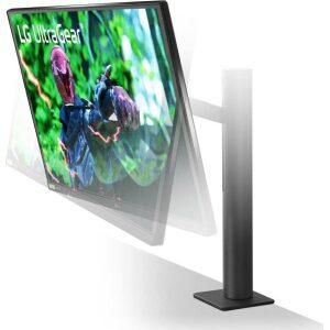 LG MONITOR 27GN880-B ERGO, QHD, LCD TFT NANO IPS LED, 27, 16:9, 350 CD/M2, 1000:1, 1MS, 144Hz, 2560x1440, 2x HDMI/DISPLAY PORT/