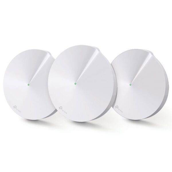 TP-LINK DECO M5 3-PACK AC1300 Whole-Home Wi-Fi System, Qualcomm
