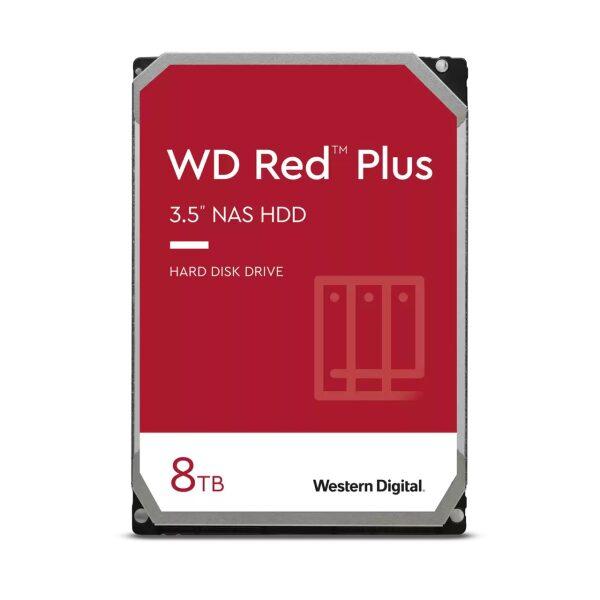 HDD RED 8TB/SATA6/7200RPM/256MB