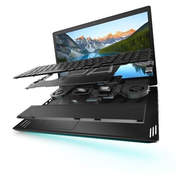 DELL Laptop G5 5500 Gaming 15.6'' FHD/i7-10750H/16GB/1TB SSD/GeForce RTX 2070 8GB/Win 10/Black Palmrest